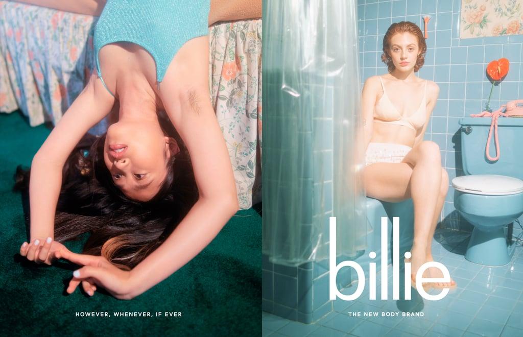 Billie Razors Donate Stock Photos of Women With Body Hair