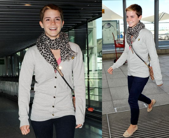 Pictures of Emma Watson at Heathrow Plus Watch Harry Potter and the Deathly Hallows Brand New TV Spot Trailer