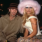 Pamela Anderson and Tommy Lee, 1999