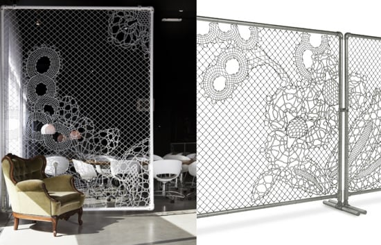 Cool Idea: Lace Fence