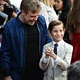 Jacob Tremblay and Mark Hamill at Los Angeles Film Festival