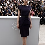 Carey wore Roland Mouret in Cannes.