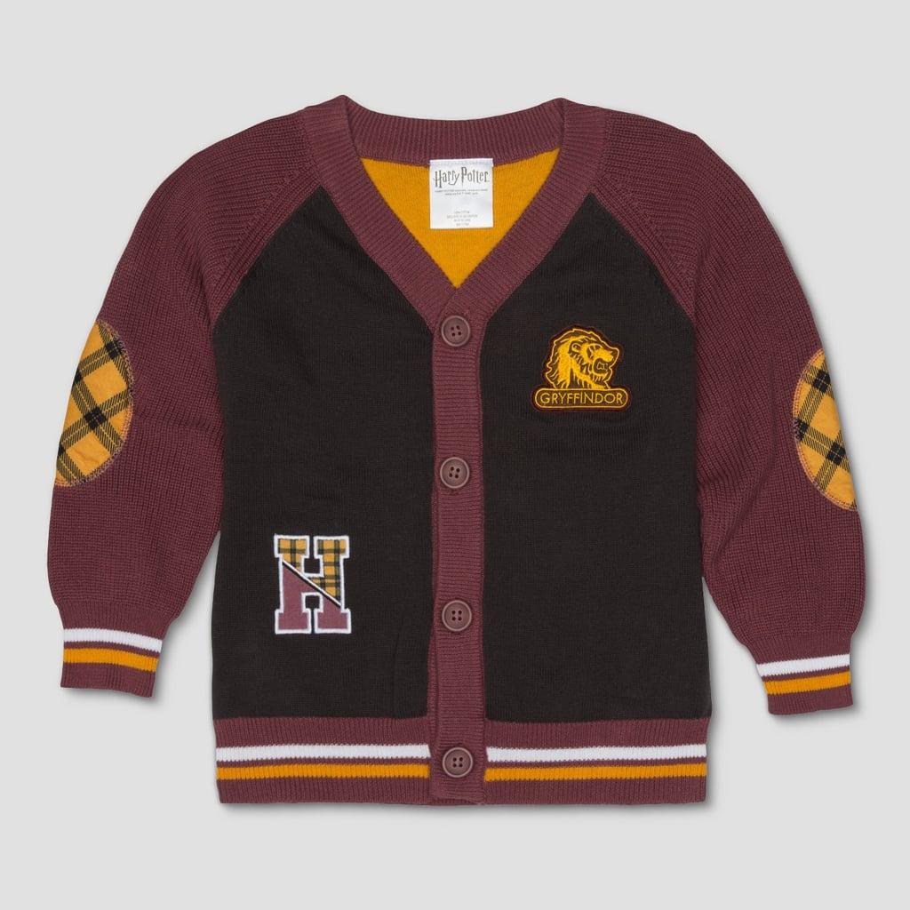Harry Potter Varsity Cardigan Long Sleeve Cardigan   Harry Potter ...