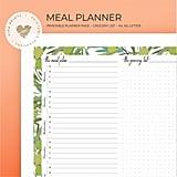 Weekly Meal Planner Printable ($3)