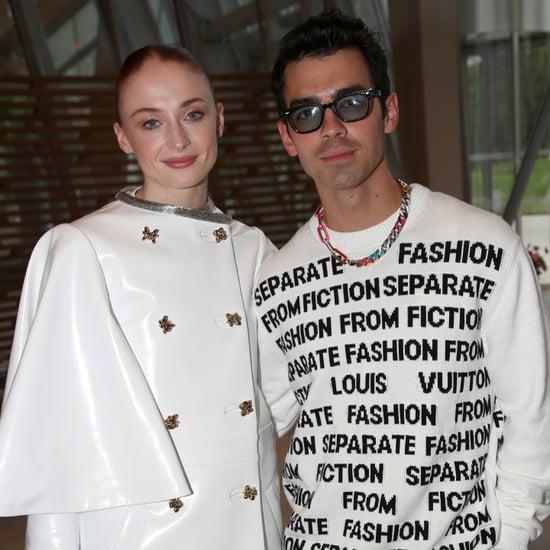 Sophie Turner and Joe Jonas at Louis Vuitton Dinner in Paris