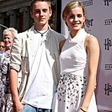 Emma Watson in 2007, With Her Brother Alex