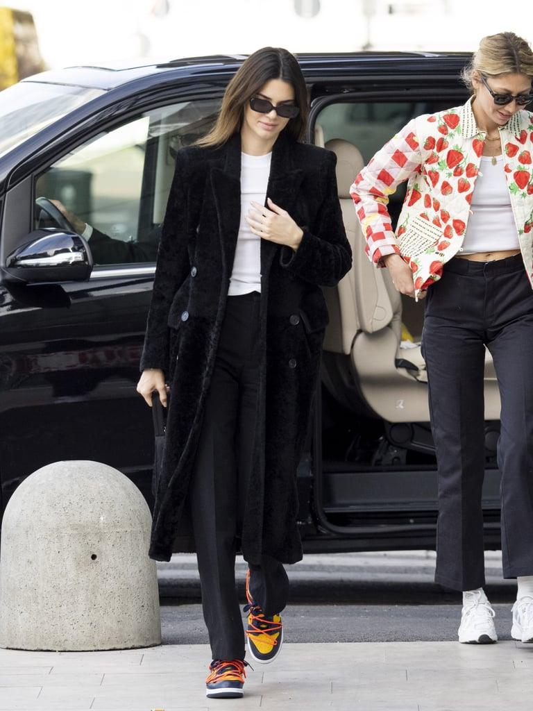 Kendall Jenner's Street Style at Milan Fashion Week