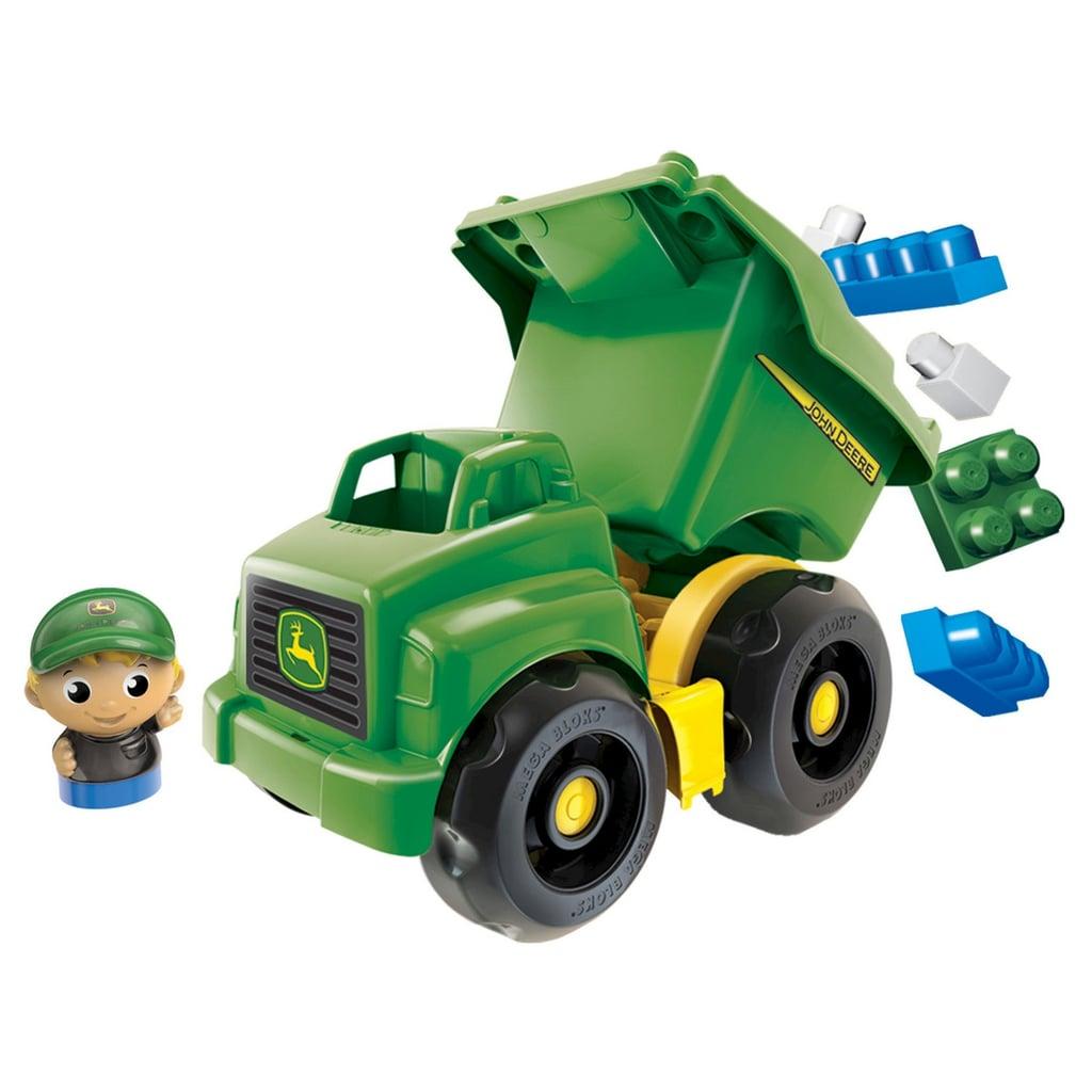 John Deere Gifts >> Mega Bloks John Deere Dump Truck Building Set Gifts For Kids