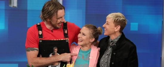 Kristen Bell and Dax Shepard on The Ellen Show 2019