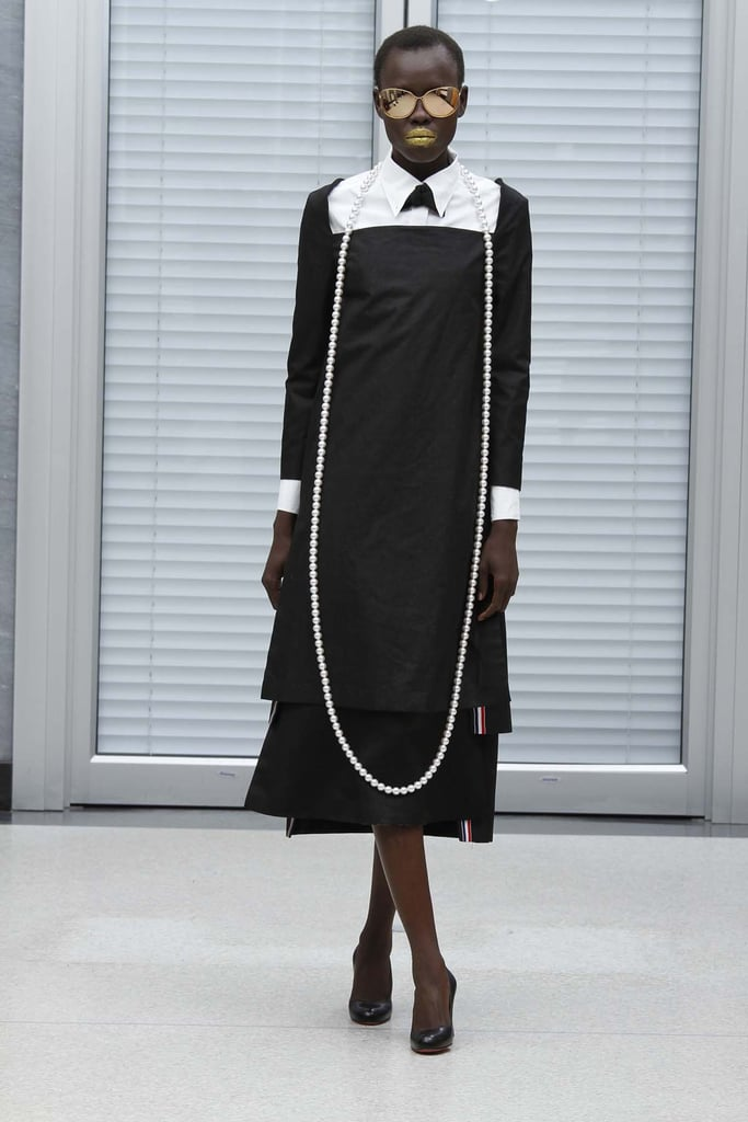 The First Full Pictures of Thom Browne's Newly-Launched Women's Collection for Spring 2011
