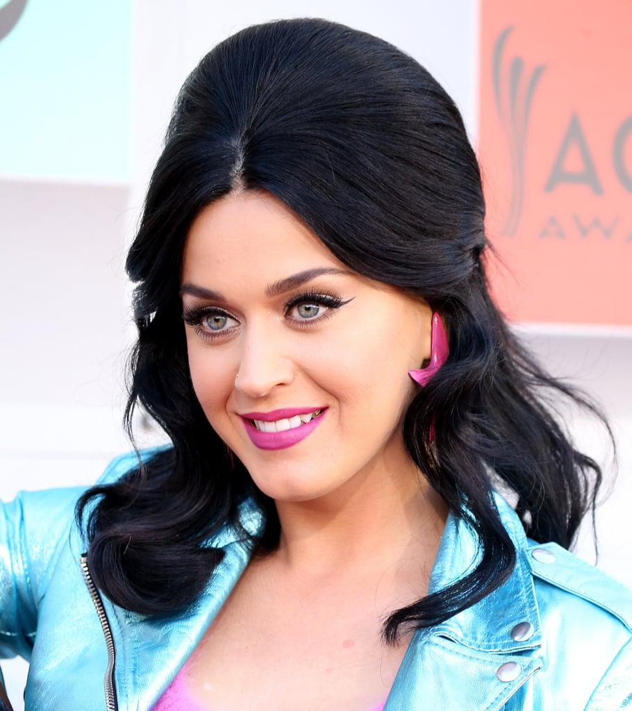 Katy Perry's Hair and Makeup at the 2016 ACM Awards