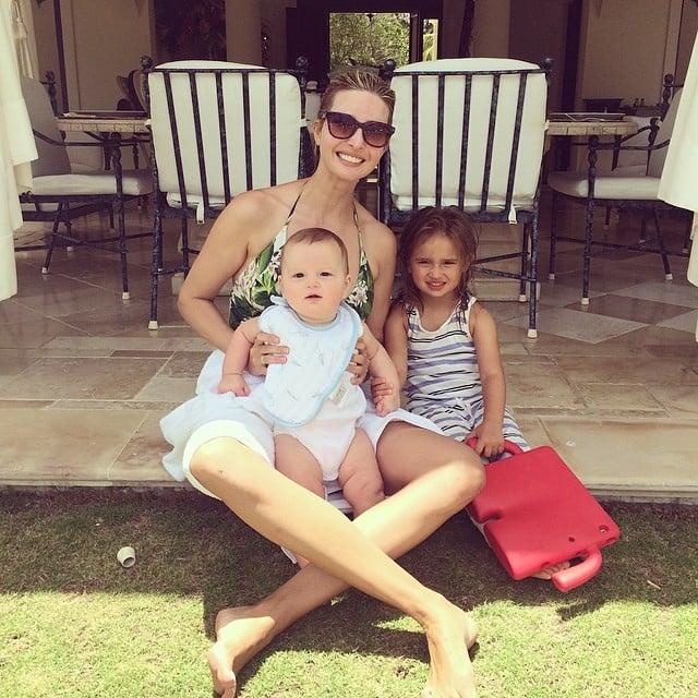 Ivanka Trump spent time with her kids, Arabella and Joseph Kushner, in the Hamptons in New York. Source: Instagram user ivankatrump