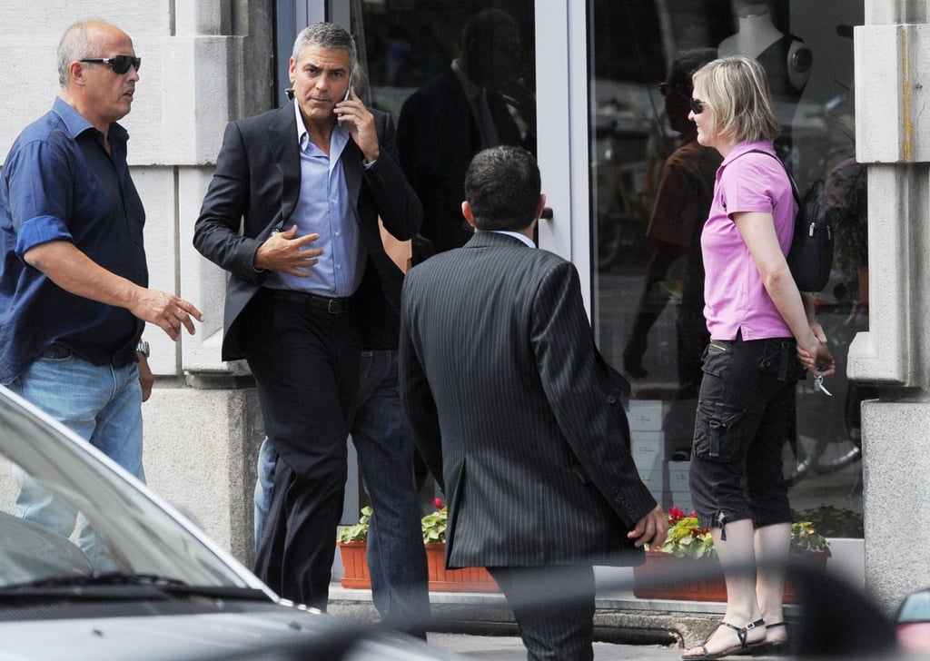 Pictures of George Clooney