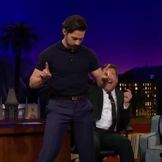 Milo Ventimiglia Giving James Corden a Lap Dance Video