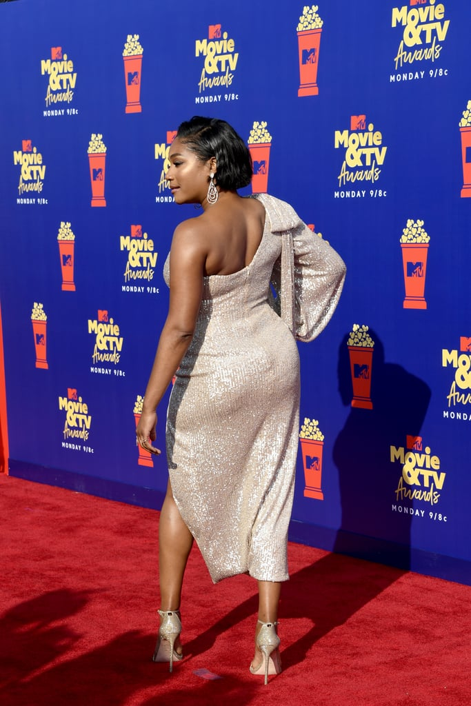 It Doesn't Get Any More Glam Than Tiffany Haddish's One-Shoulder Dress