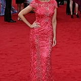 Catherine Tyldesley at the BAFTA TV Awards in May 2013