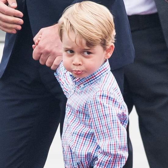 Prince George Looking Judgmental Pictures