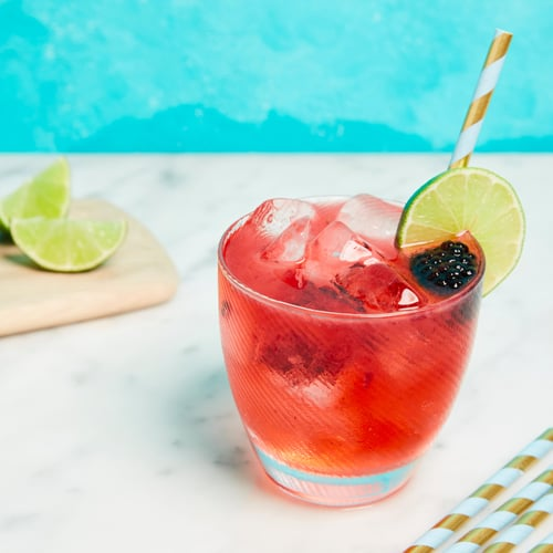 Blackberry Lime Moscow Mule
