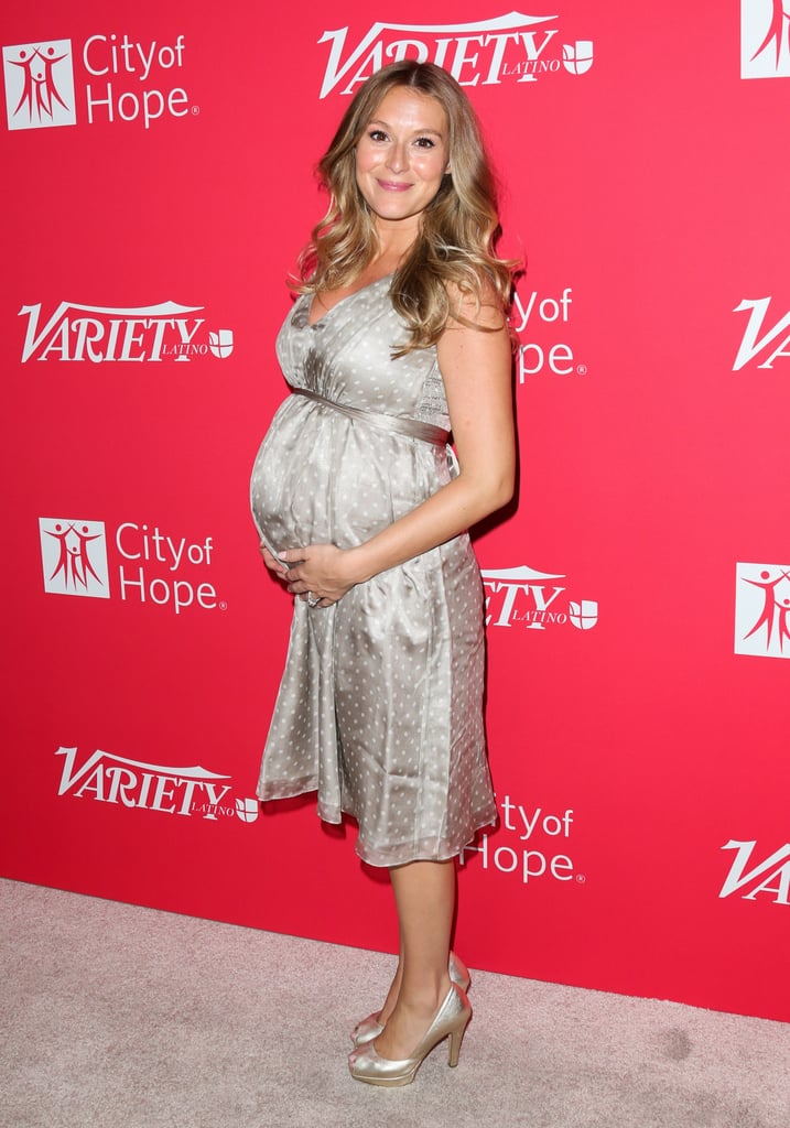 Alexa PenaVega's Pregnancy Glow Is Officially the Ultimate Red Carpet Accessory