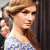 """""""This look is inspired by '60s Las Vegas,"""" explained Tresemmé lead hairstylist Jeanie Syfu. """"We thought of the Rat Pack and all the fabulous women who hung out with them."""""""