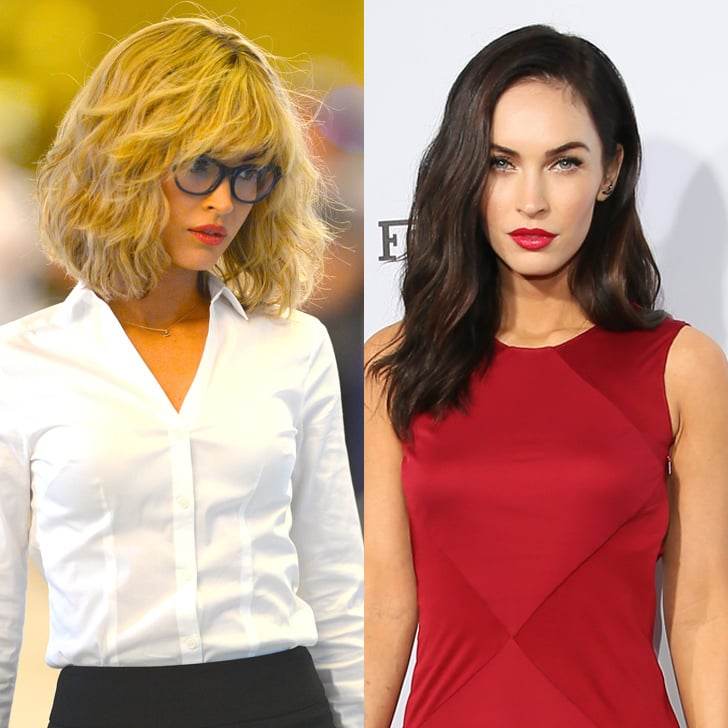 Which Hair Color Do You Like Best On Megan Megan Fox With Blonde