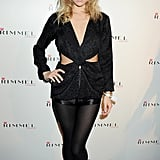 Suki left very little to the imagination when she wore a cutout design to a party hosted by Rimmel and Kate Moss in September 2011.