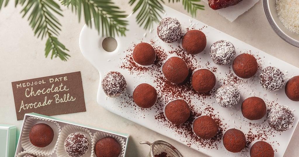 Medjool Date Chocolate-Avocado Balls