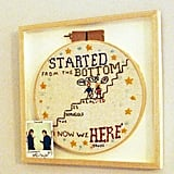 When Taylor Made Ed This Perfect Needlepoint