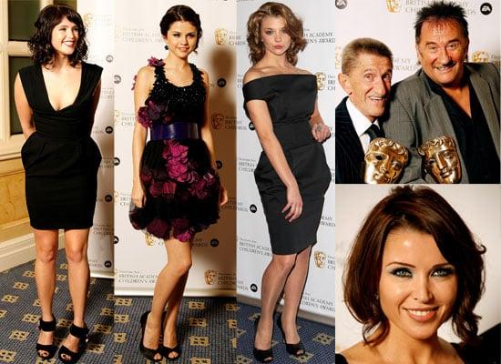 Photos Of Selena Gomez, Dannii Minogue, Gemma Arterton, Geri Halliwell and more at The Children's BAFTAs 2008