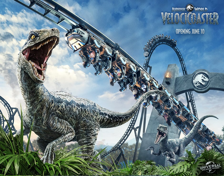 The Jurassic World VelociCoaster Is Located in Universal's Islands of Adventure Park