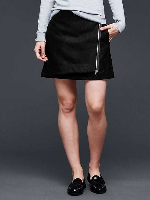 Gap Zip Wrap Miniskirt ($55)