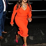 Mindy Kaling's Pink Malone Souliers Heels