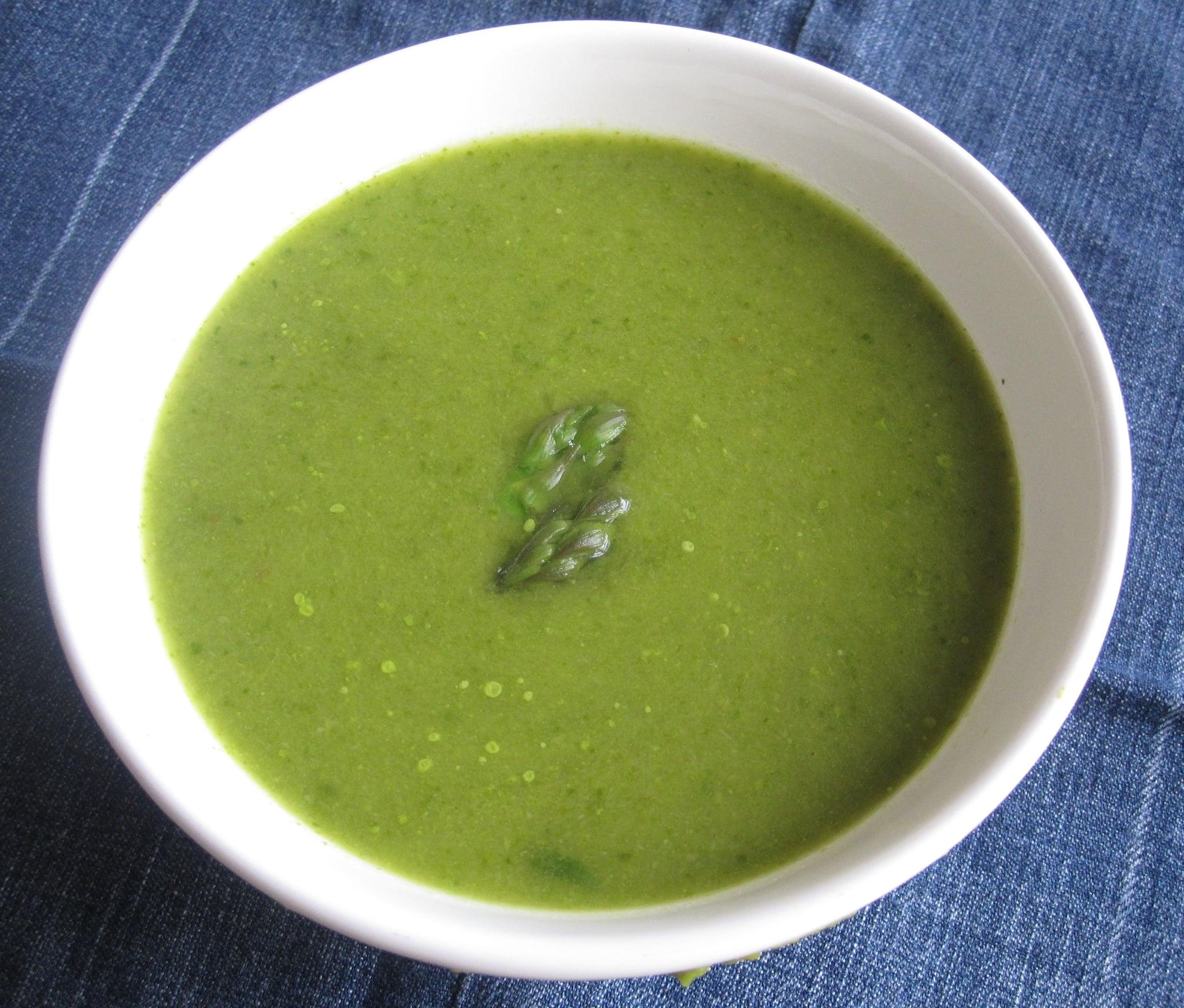 Soup Recipes Asparagus: Time To Reset: 10 Low-Calorie Detox Soups