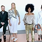 For its Spring/Summer '17 collection at New York Fashion Week, J.Crew didn't cast people who modeled for a living to show the clothes. Instead, the brand tapped friends and families, ages 13 to 70, to be models for the day. The ensemble consisted of artists, teachers, bartenders, athletes, and even kids.