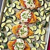 Chicken Parmesan and Roasted Zucchini