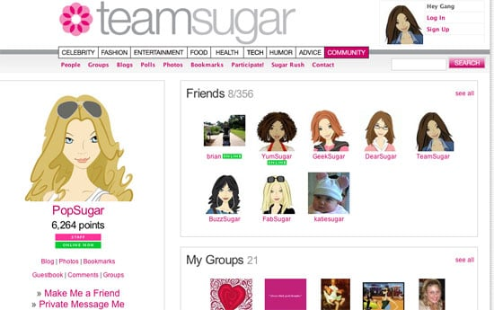 TeamSugar Has Had a Little Work Done