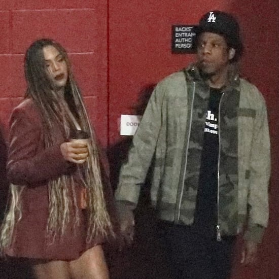 Beyoncé, JAY-Z, Kim, and Kanye at Travis Scott's LA Concert