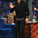 Tom Cruise appeared on Late Night With Jimmy Fallon to do press for his new movie, Jack Reacher.