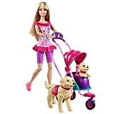 Barbie Strollin' Pups Play Set