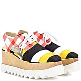 Stella McCartney Elyse platform derby shoes ($1,085)