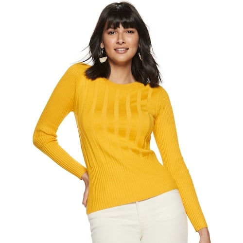 Nine West Ribbed Sweater