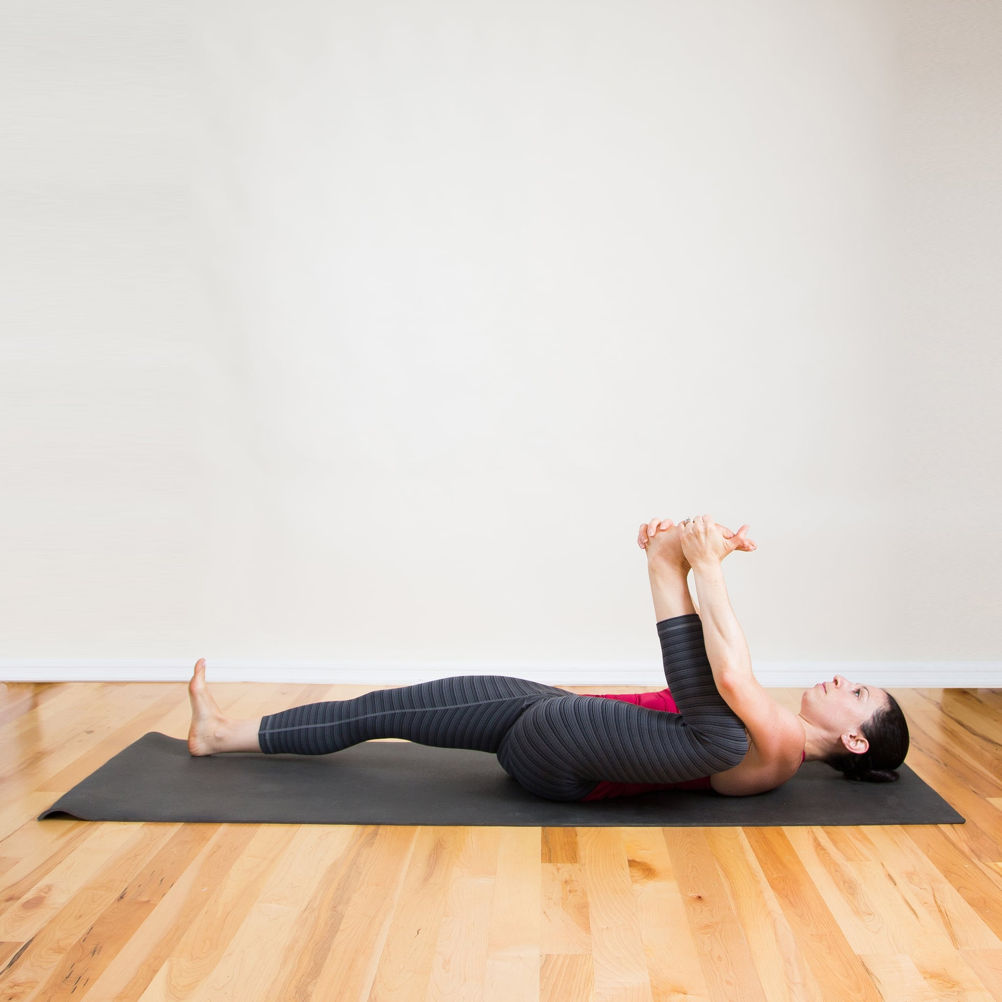 Yoga Stretches Lying On Back