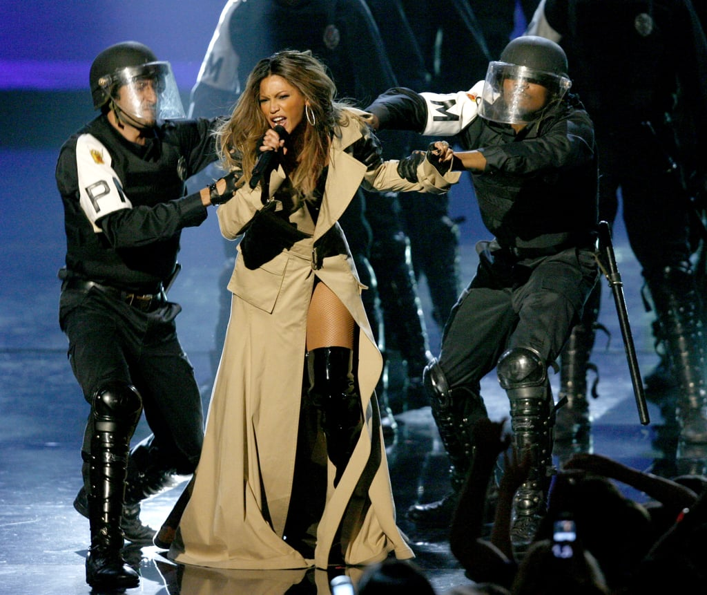 """2006: Beyoncé descended from the sky again, this time to perform """"Ring the Alarm."""""""