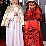 Nicki Minaj made a statement with her daring 2012 red carpet arrival.