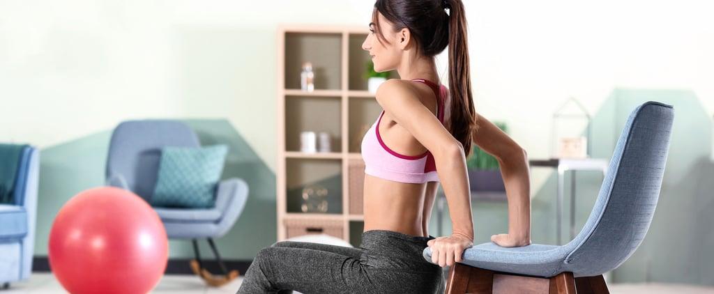 تمارين منزلية | تمرين طاولة القهوة لمدة 30 دقيقة