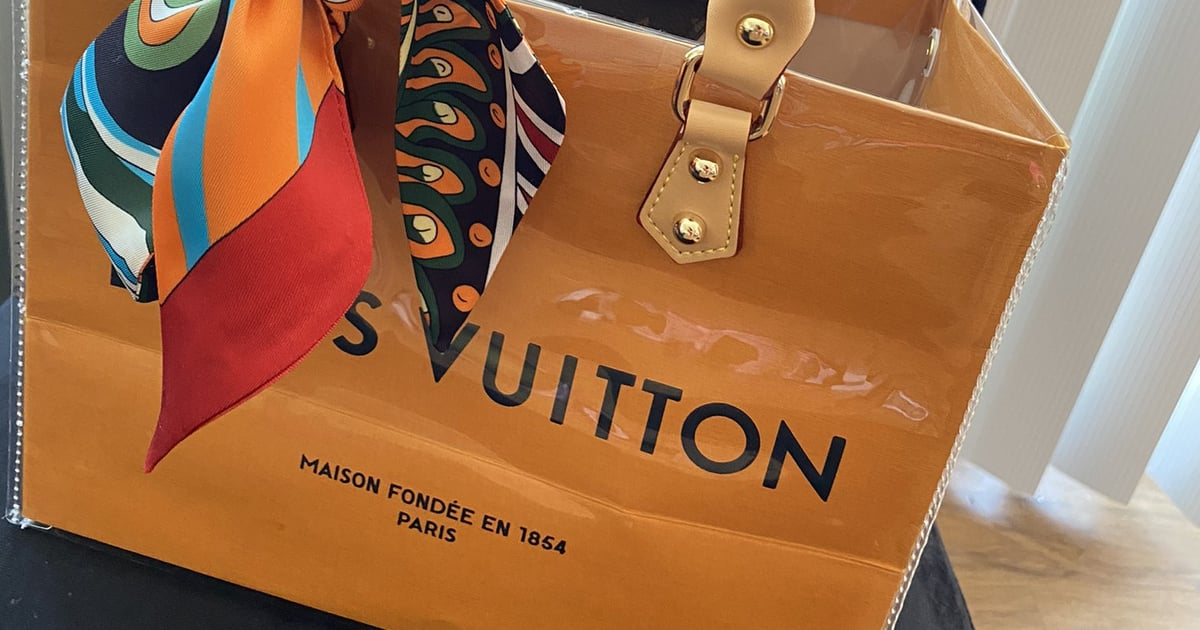 TikTokers Found a Way to Make $45 PVC Louis Vuitton Bags, and We're All on Board.jpg