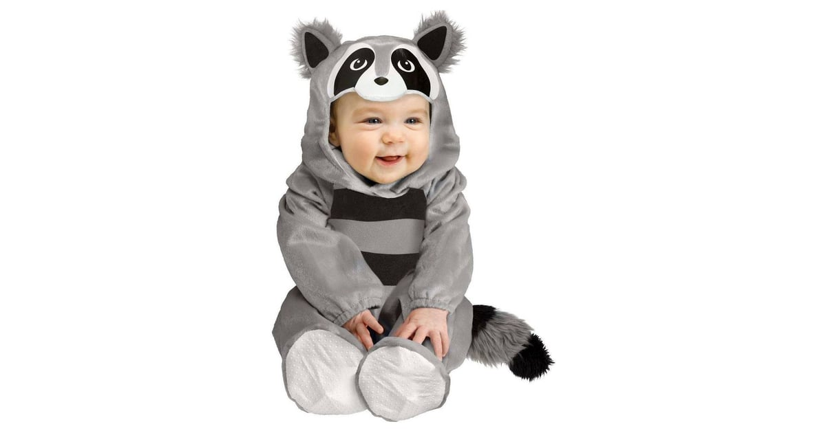 bffc99d21 Baby Raccoon Infant Costume | Warm Halloween Costumes For Babies | POPSUGAR  Family Photo 46