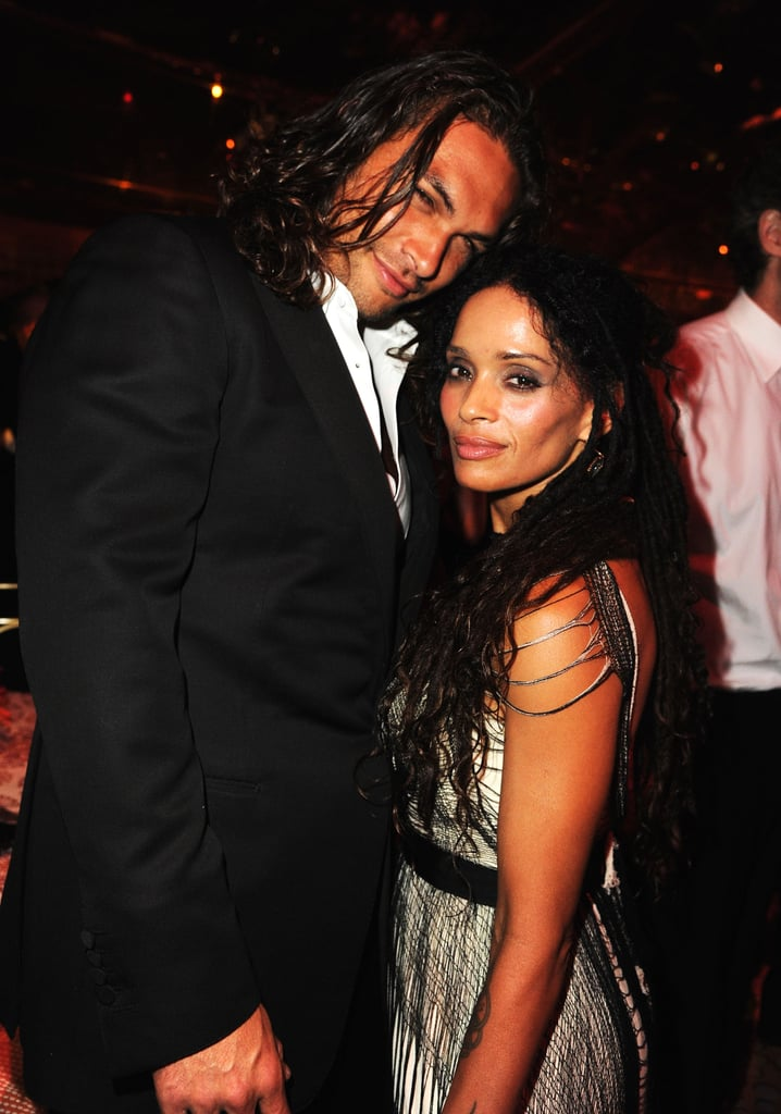Jason Momoa and Lisa Bonet at an Emmys Afterparty in September 2011