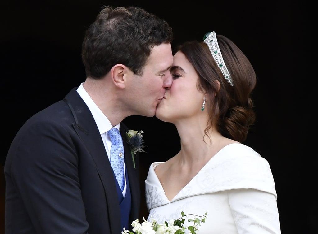 Princess Eugenie Tiara on Her Wedding Day