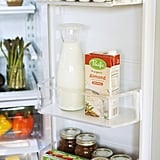 Rid your fridge of old condiments.